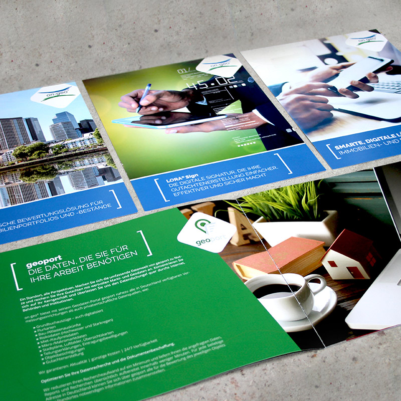 Referenz Brochure